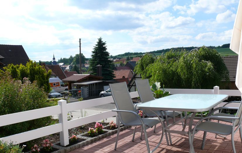 Koppelzaun aus PVC-Kunststoff weiss für Terrasse und Koppel